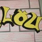 Tekenen in de bovenbouw, je eigen naam in graffiti