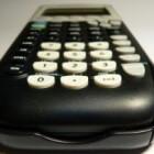 Het gebruik van het menu �CALC� op de TI-84
