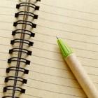 Een voorwoord schrijven